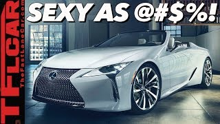 Lexus LC Convertible Concept: How Do You Improve on Sexy? Drop the Top!