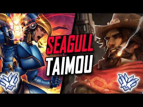 SEAGULL PRO PHARAH AND TAIMOU MCCREE! BEST TEAM? [ OVERWATCH SEASON 6 TOP 500 ]