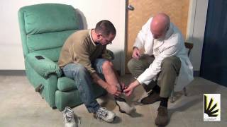Foot of the Week - Episode 22 - AFO brace donning