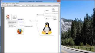 Crear mapas mentales con FreeMind - vídeo Nro. 04