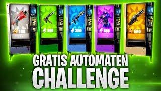 GRATIS AUTOMATEN CHALLENGE! 🍹 | Fortnite: Battle Royale