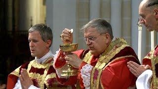 Pèlerinage de Pentecôte 2017 - Messe de clôture à Chartres