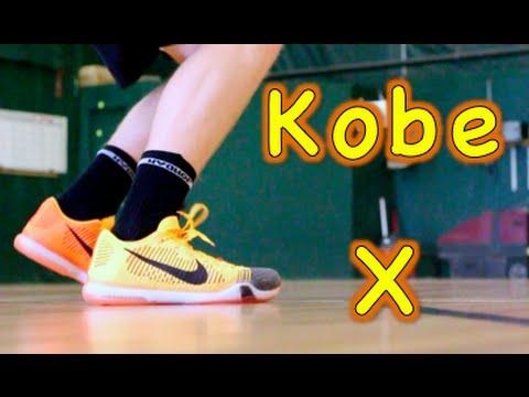 brand new 3d897 cf895 Nike Kobe 10 Elite Low Performance Review