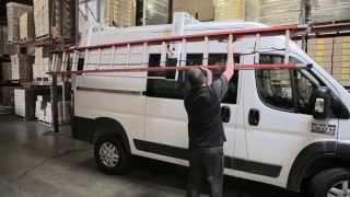 RAM ProMaster Ladder Rack EZ-Low Down by Kargo Master