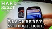 blackberry 9900 bootrom not connected to pc - YouTube
