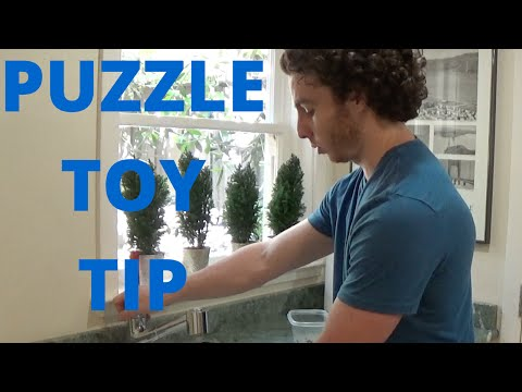 A Tip For KONG Dog Toy Stuffing - Use Your Freezer!
