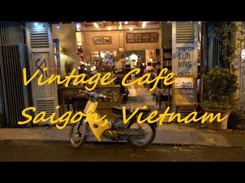 애정하는 호치민 빈티지 카페 Vintage Cafe in Saigon, Vietnam