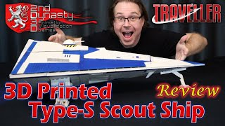 3D Printed Traveller Scout Ship - Review