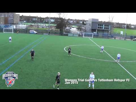 Women's Trial Game vs Tottenham Hotspur FC Rep XI - Jan 2015