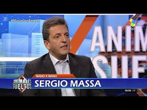 """Sergio Massa en """"Animales sueltos"""" de A.Fantino (completo HD) - 16/10/17"""