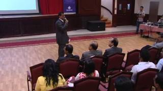 Motivational session by Santhosh K Nair, in Indian Association Hall, Adudhabi