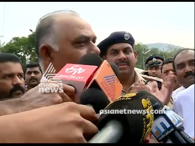 Human Right Commision  Chairman visiting Pamba and nilakkal  | Live Updates