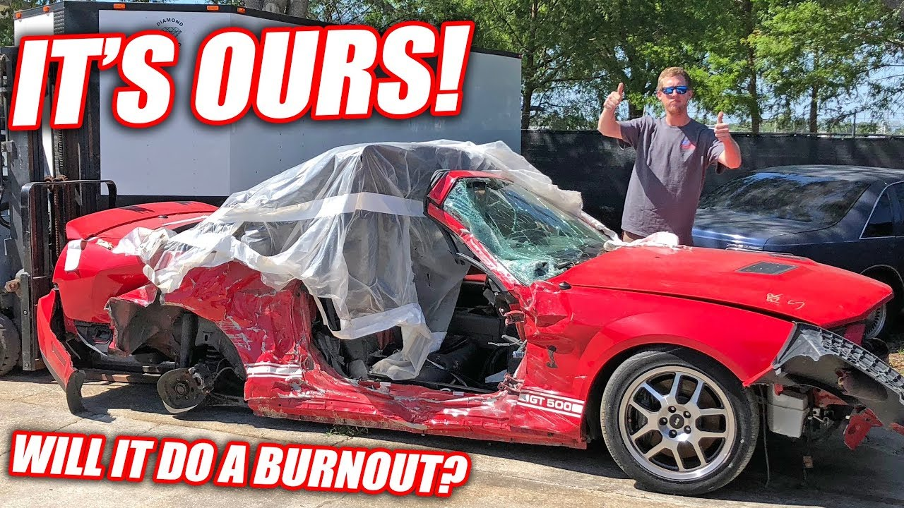 Wrecked GT500 Gives Ultimate Crown Vic Build New Life