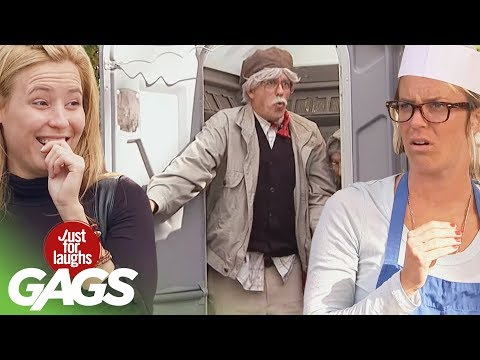 Making Fire, Elderly Love, & The Almost Perfect Person  |  JFL Throwback Pranks