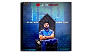 Mumbai Indians attitude whatsapp status for MI fans