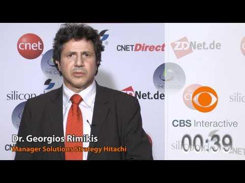 Dr. Georgios Rimikis - Hitachi - ZDNet.de - CBS Interactive - One Minute Pitches