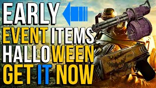 Fallout 76 Early Event Items Drops | Bug? Get It Now!