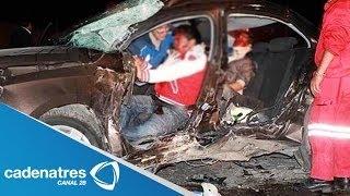 ¡IMPRESIONANTE! Accidente en la Naucalpan- Toluca deja 11 muertos thumbnail