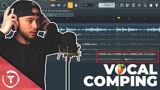 Vocal Comping In FL STUDIO 20 | How to Record Vocals (BEGINNERS)