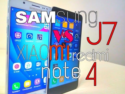 Выбираем какой фаблет купить. Samsung Galaxy J7 2016 или Xiaomi Redmi Note 4