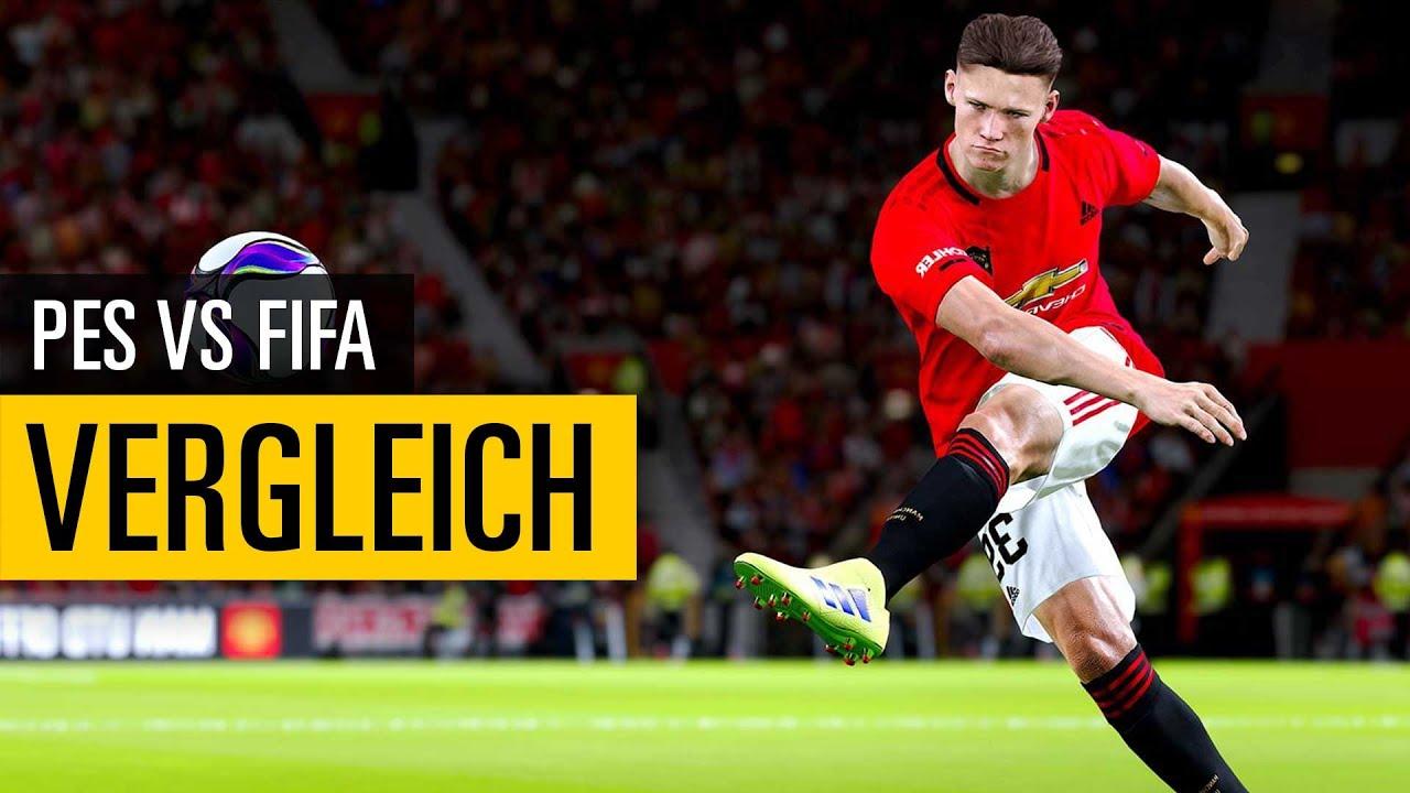 Download FIFA vs. PES   Warum Pro Evolution Soccer das bessere Spiel ist