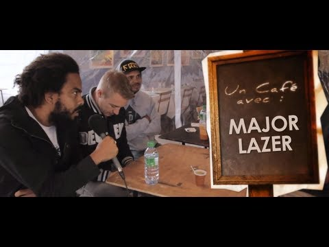 Un Café avec Major Lazer - Interview VOST