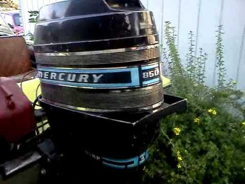 mercury 850 thunderbolt youtube rh youtube com Mercury Thunderbolt Ignition Parts 4 HP Mercury Thunderbolt Ignition