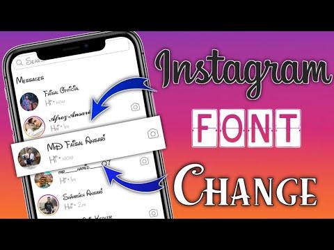Instagram Font Change || Instagram Font Style Kaise Change Kare || instagram font style trick 2021