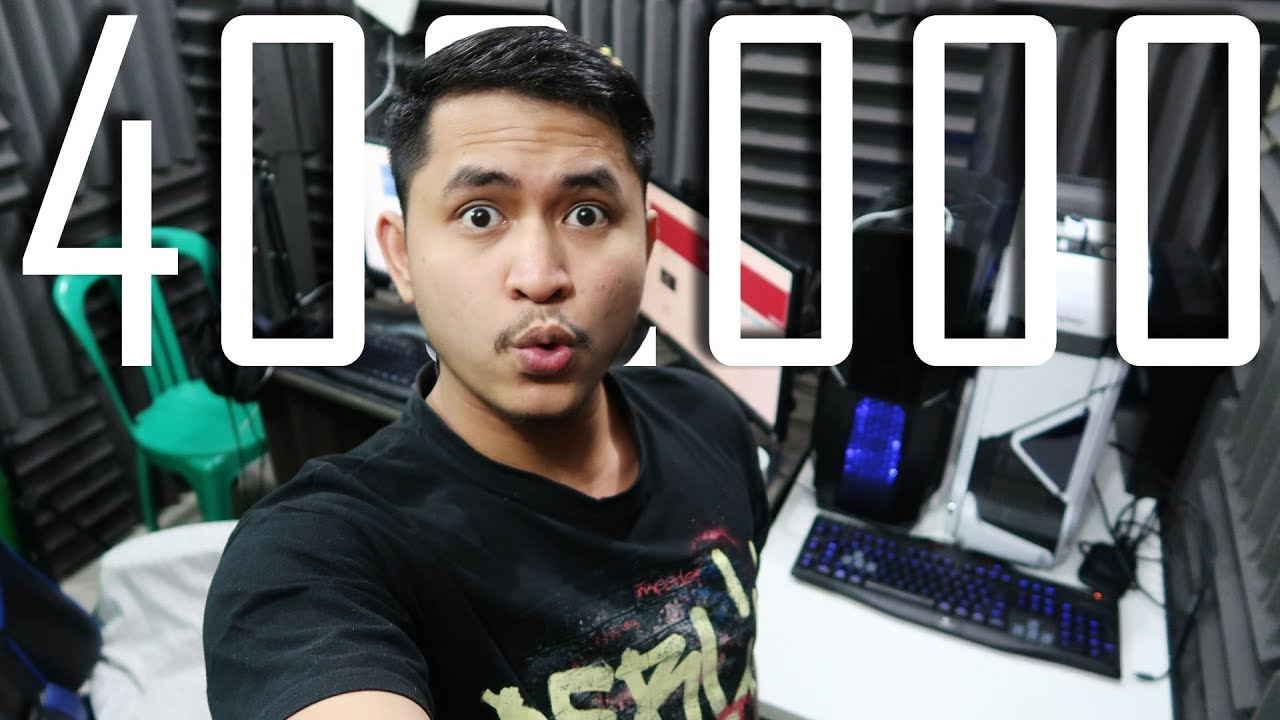 STUDIO TOUR + REVIEW PC GAMING & PC STREAMING RASA SULTAN - 400K Subscriber Fandra Octoramonth