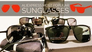 Aliexpress Most Popular Sunglasses || Unboxing Aofly, Veithdia and Brunno Dunn Polarized Sunglasses