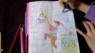 Speed Colouring | Original Rapunzel