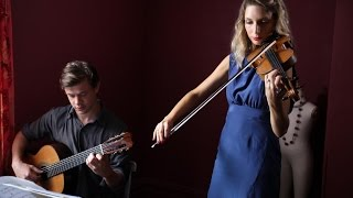 With Or Without You - U2 - Stringspace Violin & Guitar Duo - cover