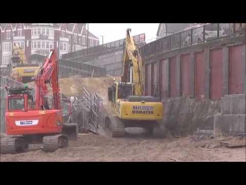 Whitley Bay sea defences