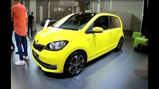 SKODA CITIGO CLEVER SUNFLOWER YELLOW MODEL 2018 WALKAROUND + INTERIOR