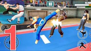 Tag Team Karate Fighting Games: PRO Kung Fu Master - Gameplay Walkthrough (Android) Part 1 screenshot 2