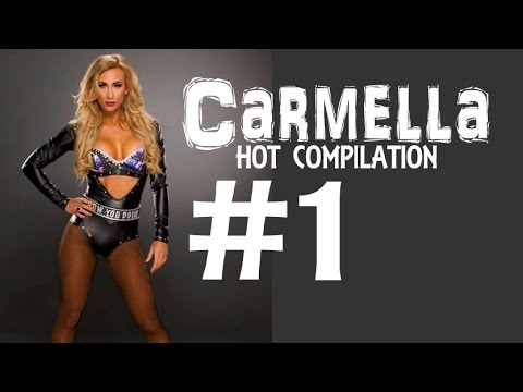WWE NXT Diva Carmella Hot Compilation -1