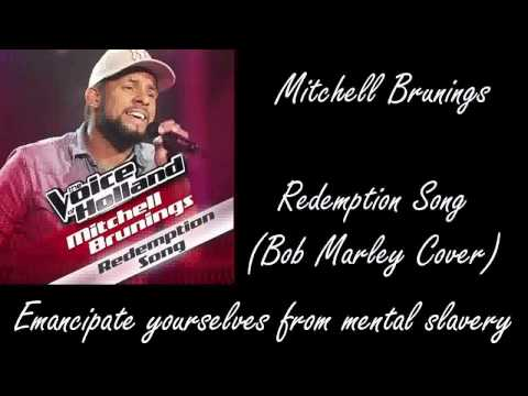 "Mitchell Brunings - ""Redemption Song"" (On Screen Lyrics) HQ"