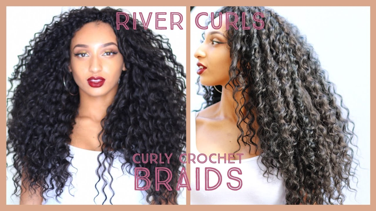 Curly Crochet Braidsknotless Watch Me Install Wavy Hair In 25