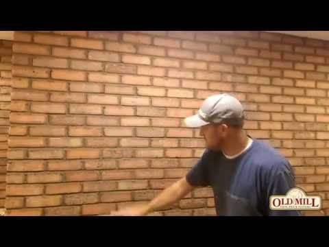 How to Grout Thin Brick Joints Using Traditional Mortar