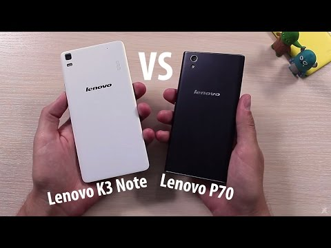 Lenovo P70 vs Lenovo K3 Note Сравнение