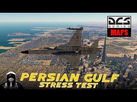 DCS: Persian Gulf stress test y actualización del canal. (Spanish)