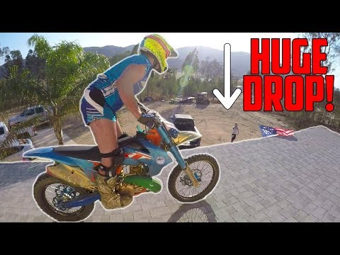 how to jump a dirt bike for beginners