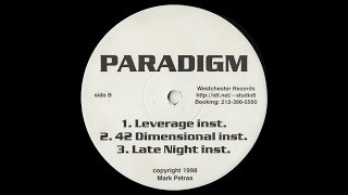 Download Paradigm - 42 Dimensional Instrumental [HD] MP3 song and Music Video