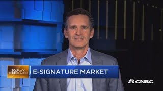 DocuSign CEO on automating agreements and blockchain