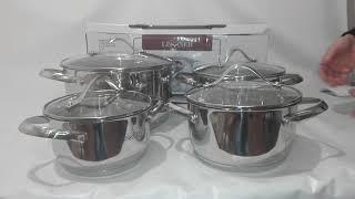 Набор посуды Lessner 8пр 55858 - ОБЗОР