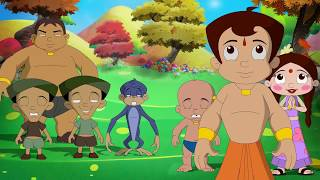 chhota bheem and the curse of damyaan exclusive song jham jham jhambura