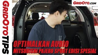Cara Optimalkan Audio Mitsubishi Pajero Sport Rockford Fosgate | GridOto Tips