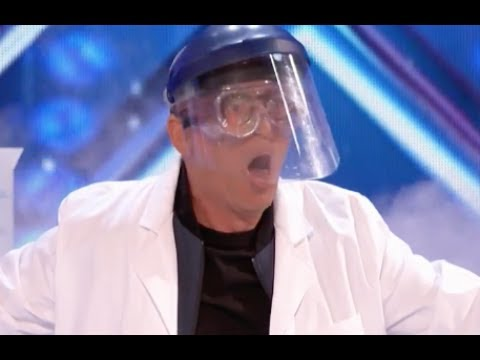 Chemist Nick Blows Judges' Minds Away With REACTIONS | Week 2 | America's Got Talent 2017