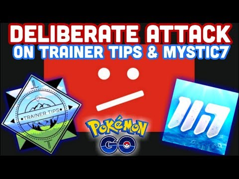 TRAINER TIPS & MYSTIC7 FALSELY REMOVED FROM YOUTUBE | MAMOSWINE CD IN POKEMON GO thumbnail