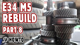New Parts Unboxing and Gearbox is Back! BMW E34 M5 S62 Rebuild